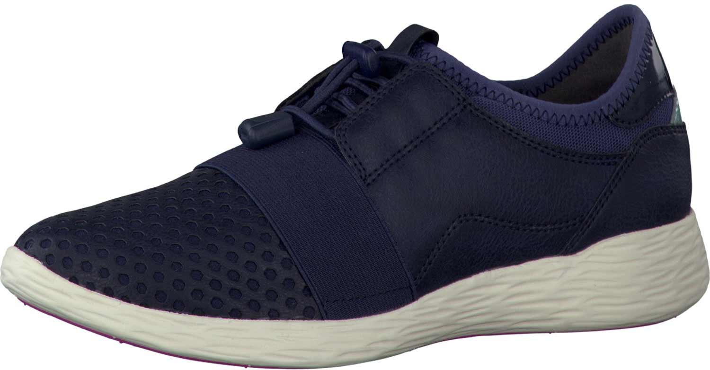 Tamaris Panya Damenschuhe Sneakers Turnschuhe Laufschuhe 23722-28 805 Blau Navy
