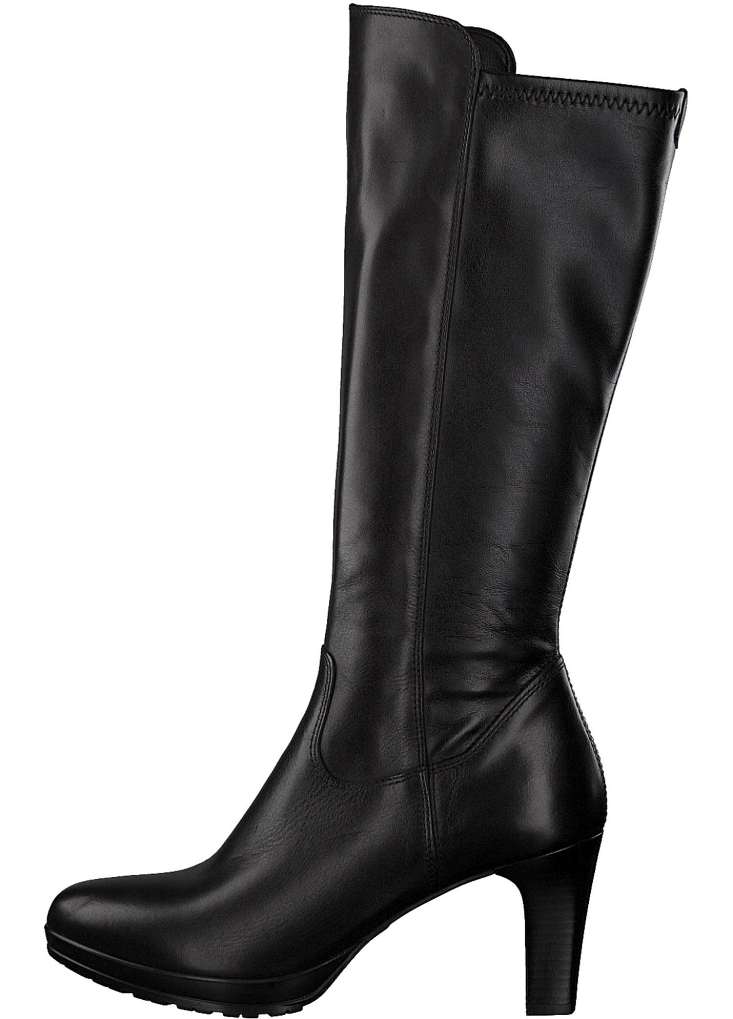 582ee5167771c1 Tamaris Bottes pour Femme Bottines Bottes Hiver 25548-21/001 Noir Neuf 2 2  sur 6 ...