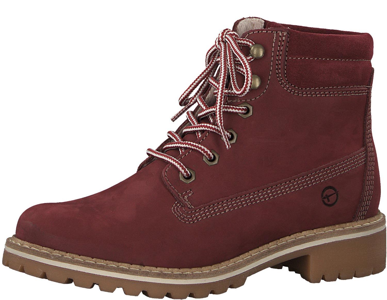 Tamaris señora botas botines botas ata 25242-21 500 rojo nuevo