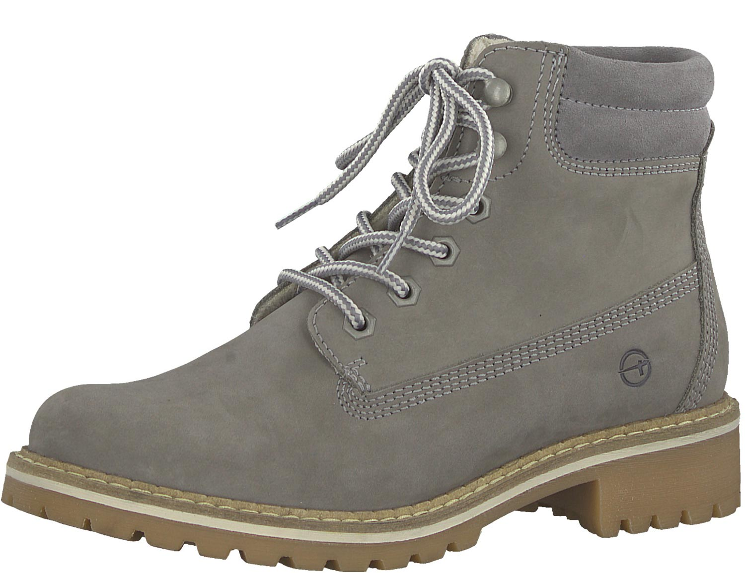 Tamaris Women's Boots Ankle Boots Lace up Boots 25242-21 254 Grey New