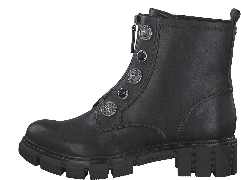 Tamaris Damen Stiefel Helios Boot Stiefeletten 25440 TOUCH-IT Funktion schwarz