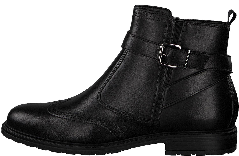 Tamaris-Women-039-s-Boots-Ankle-Boots-Winter-25004-21-007-Black-New thumbnail 2