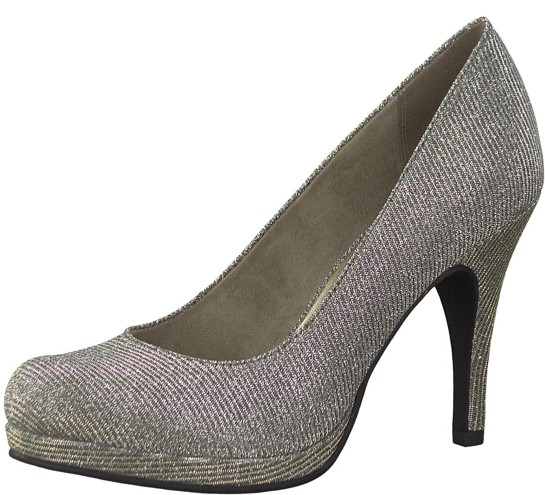 c6d784d2371 Tamaris Escarpins Femmes Chaussures à Talon Hauts Hiver 22407-21 970 Beige  Neuf