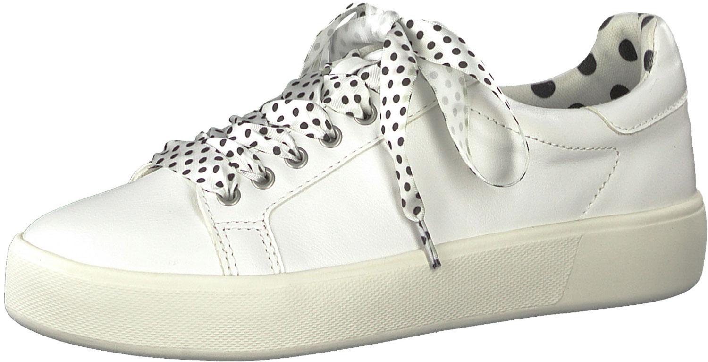 Lacets Blanc Baskets Détails Femme 23724 Chaussures De Sport Sur Tamaris À Neuf 22145 eE2DH9WYI