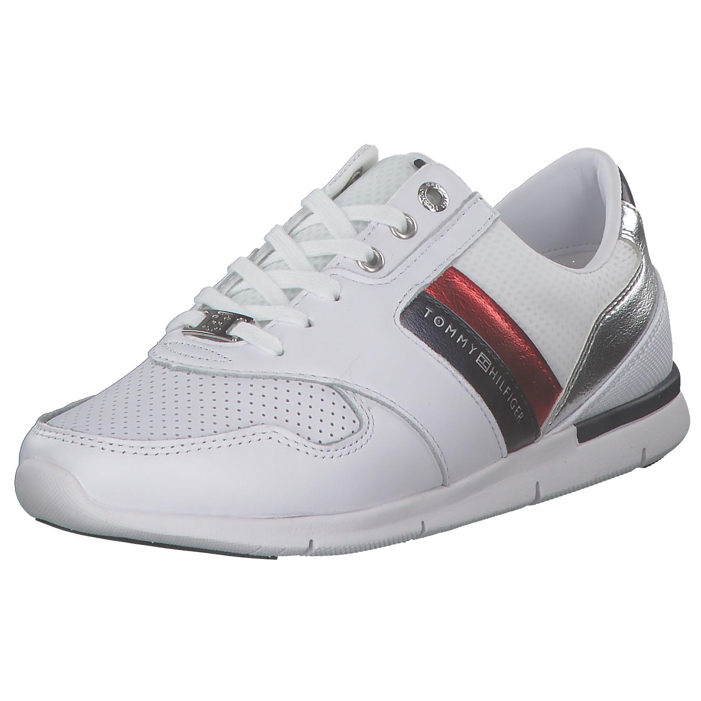 273b1cd66be6e Das Bild wird geladen Tommy-Hilfiger-Light-Weight-Damen-Sneakers-Turnschuhe- Low-