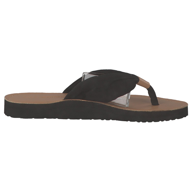 tommy hilfiger footbed beach damen zehentrenner sandalen. Black Bedroom Furniture Sets. Home Design Ideas