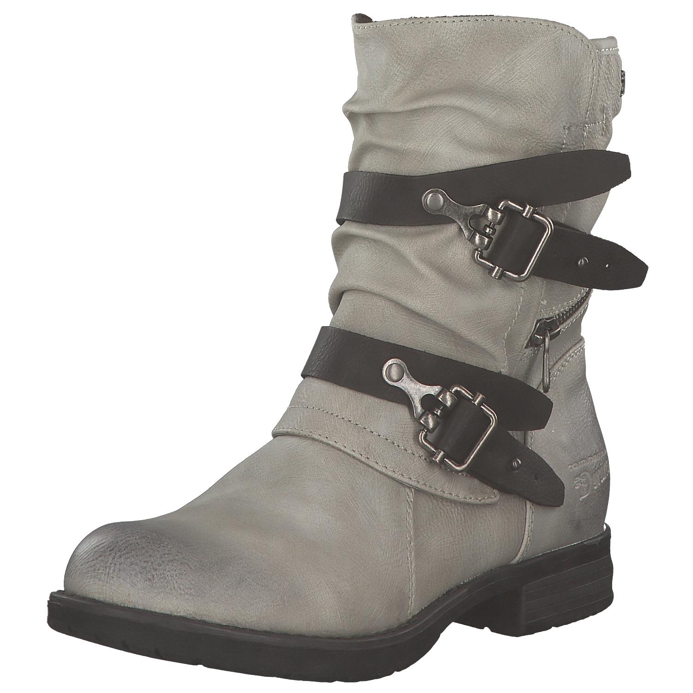 c12a1677564e86 Das Bild wird geladen Tom-Tailor-Damen-Stiefel-Biker-Boots-Winterstiefel -Stiefeletten-