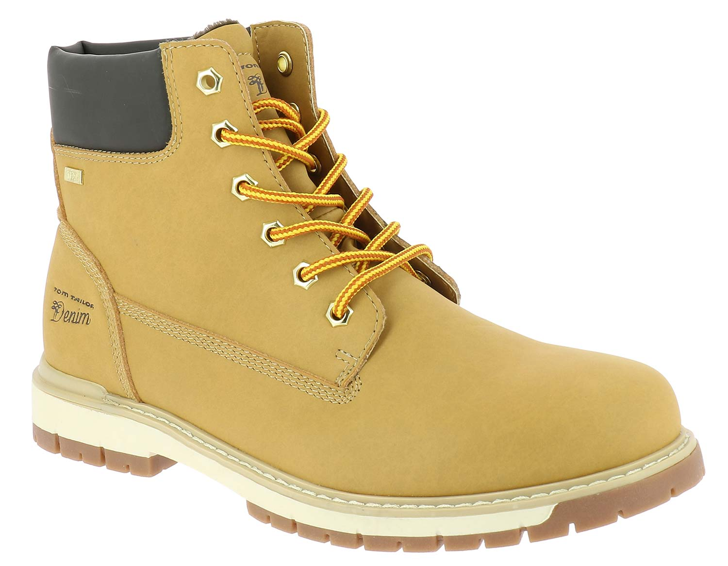 Details about Tom tailor Men's Boots Winter Shoes 5885401 Yellow Black New