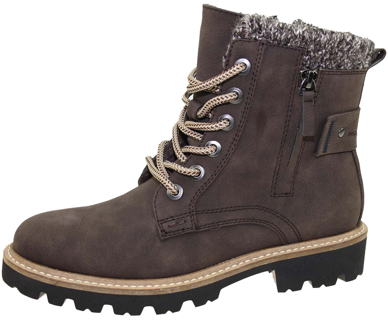 tom tailor damen stiefel boots winterschuhe 5890804 braun. Black Bedroom Furniture Sets. Home Design Ideas