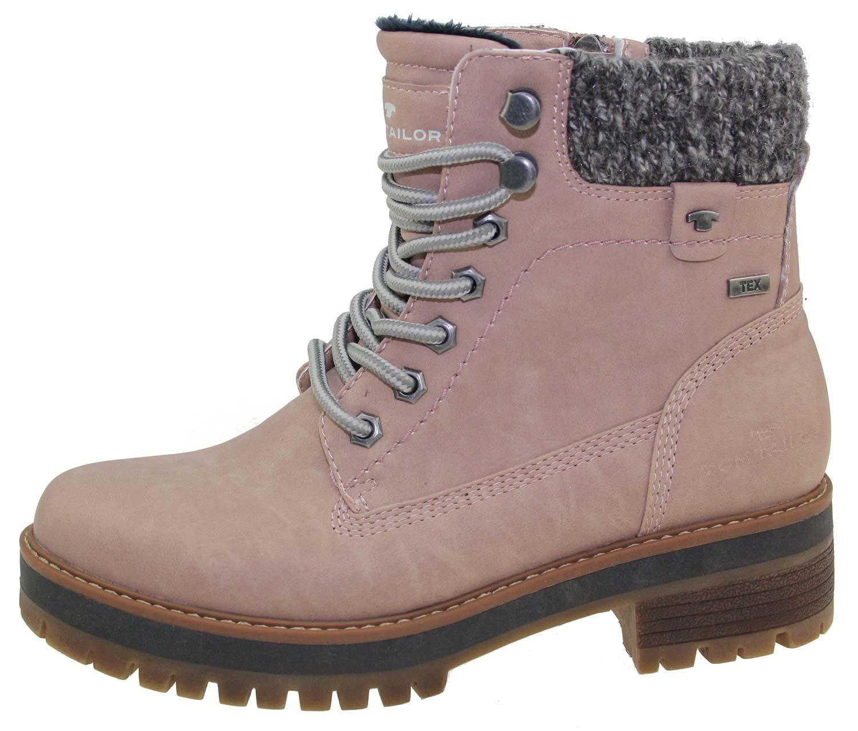 tom tailor damen stiefel boots winterschuhe 5890001 rosa. Black Bedroom Furniture Sets. Home Design Ideas