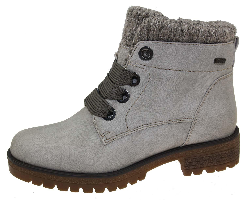 tom tailor damen stiefel boots winterschuhe 5891001 grau. Black Bedroom Furniture Sets. Home Design Ideas
