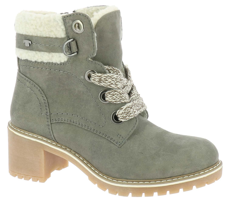 tom tailor damen stiefel boots winterschuhe 5890904 gr n. Black Bedroom Furniture Sets. Home Design Ideas