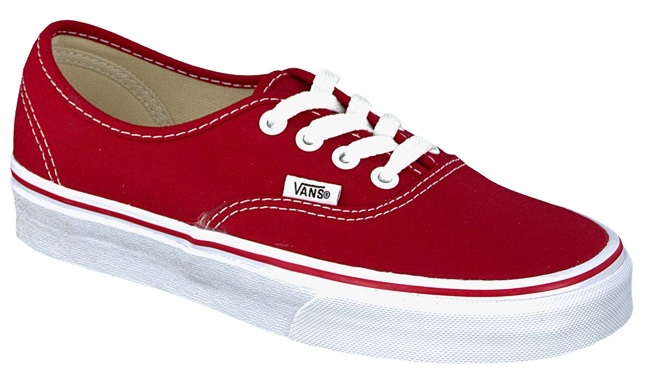 authentic vans weinrot