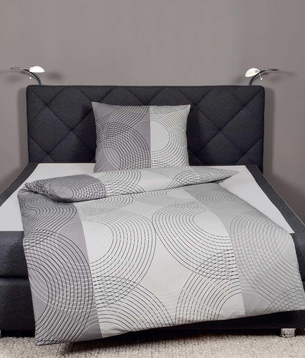janine mako seersucker top bettw sche garnitur b gelfrei 2014 neue kollektion ebay. Black Bedroom Furniture Sets. Home Design Ideas