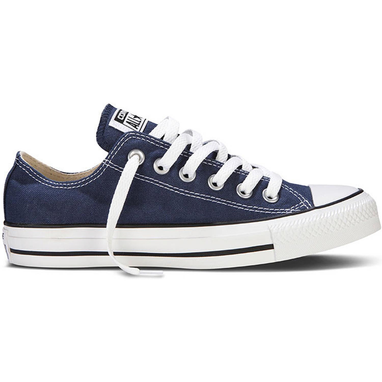converse chucks ox sneaker turnschuhe schuhe low m9697 blau canvas ebay. Black Bedroom Furniture Sets. Home Design Ideas