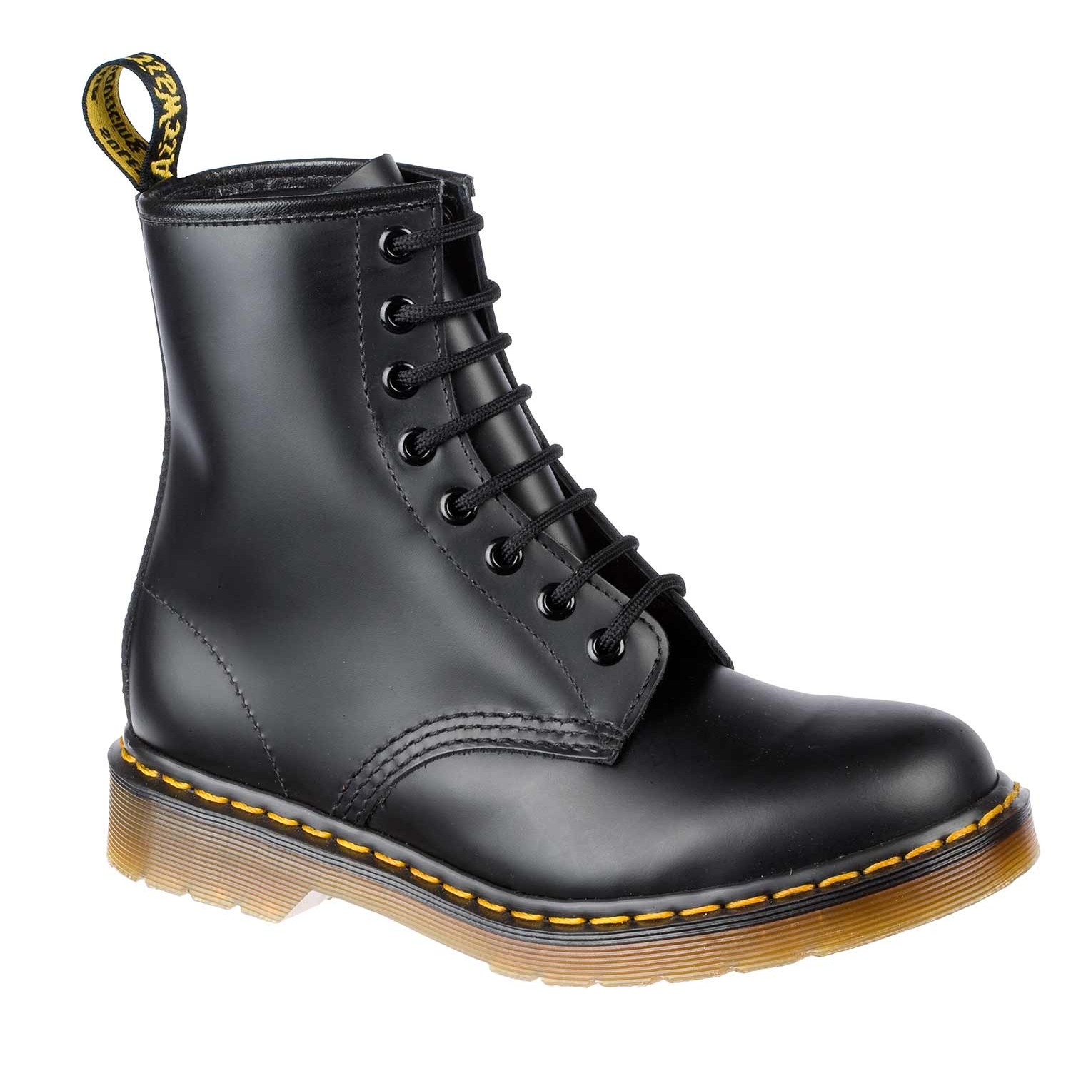 dr martens doc 1460 boots stiefel 8 loch lederstiefel 10072004 schwarz. Black Bedroom Furniture Sets. Home Design Ideas