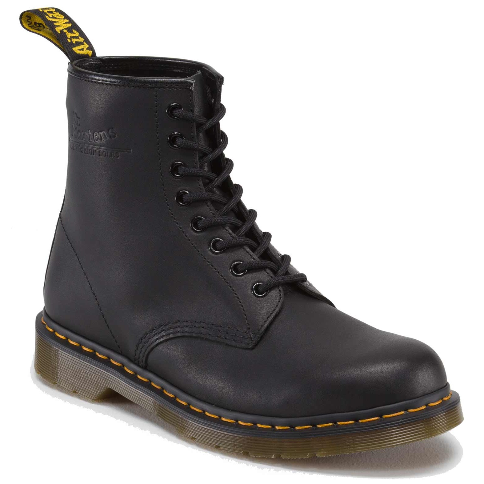dr martens doc boots stiefel smooth 8 loch lederstiefel 11822003 schwarz neu ebay. Black Bedroom Furniture Sets. Home Design Ideas