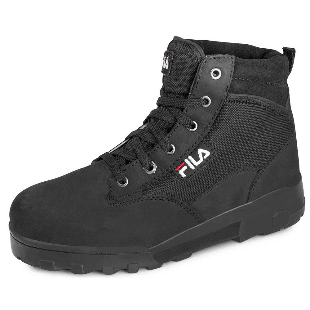 fila stiefel winterstiefel boots schuhe grunge mid 970 schwarz ebay. Black Bedroom Furniture Sets. Home Design Ideas